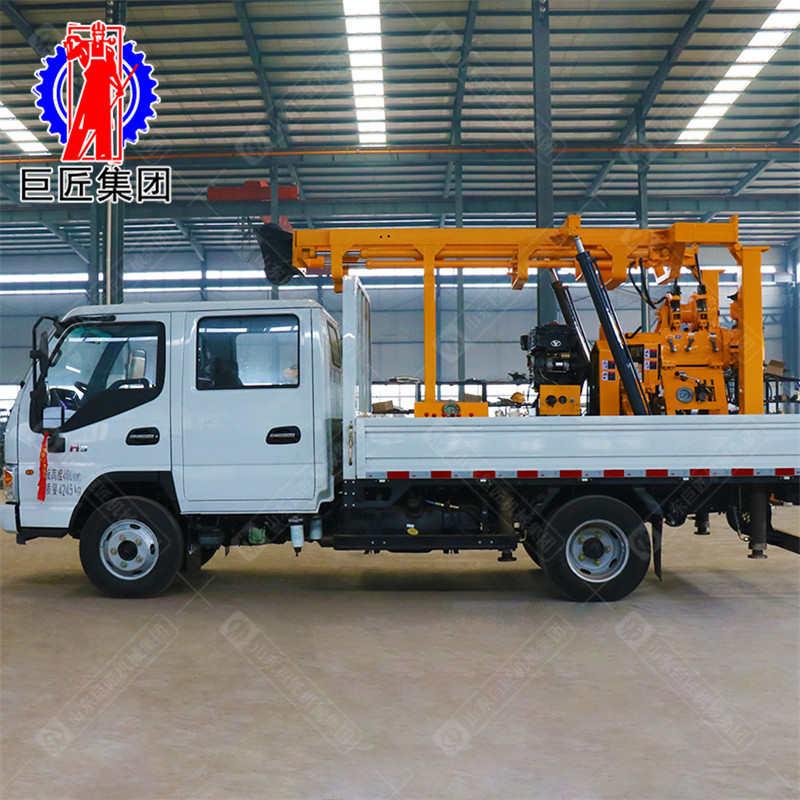 XYC-200车载水井机械钻机 液压勘探设备 200米深孔取芯移动方便