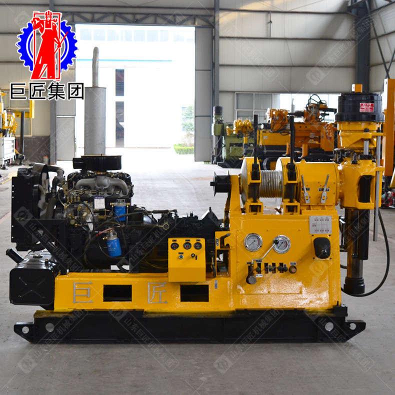XY-3型液压勘探机 600米深孔取芯机械设备 大型钻探机