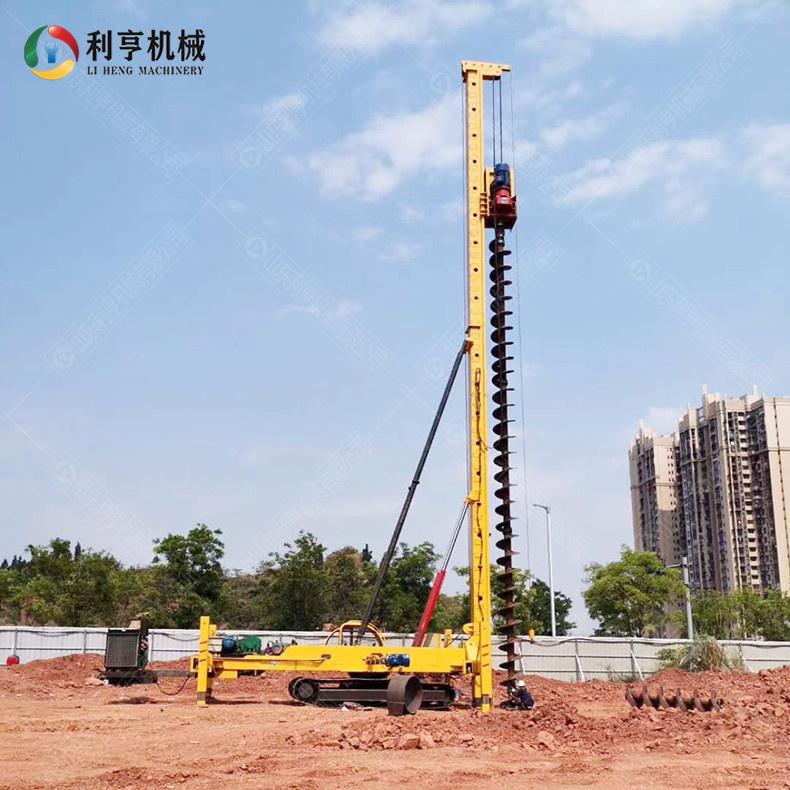 履带式机锁杆旋挖钻机 建筑工程成孔打桩机 柴油动力