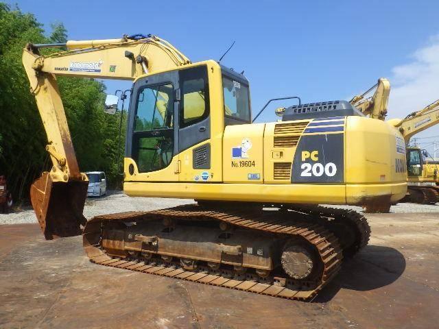 小松出售原装进口 小松200-8N1二手挖掘机二手挖掘机