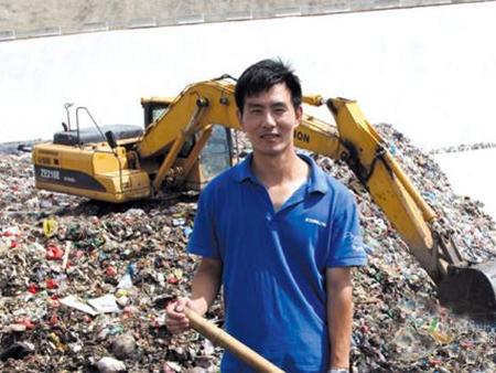 垃圾山上,也能找到工作快乐