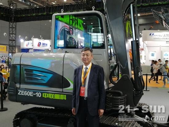 郭学红:中联重科4.0智能化产品已占销售收入70%