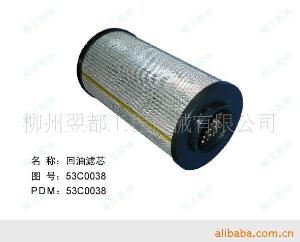 柳工装载机配件 回油滤芯EF-101;53C0038
