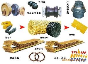 供应山推推土机底盘件 支重轮,驱动齿,拖轮,引导轮,山推链条