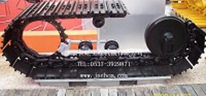 供应小松PC200-7挖掘机四轮一带  小松挖机底盘件  山...