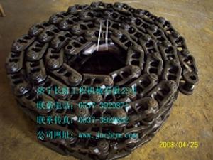 供应PC200-7挖机链条 小松PC200-7挖机引导轮  ...