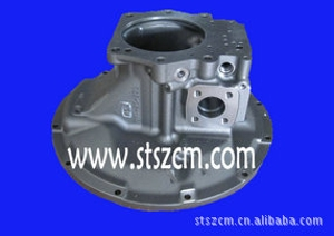 小松挖掘机配件PC400-7液压泵前泵壳708-2H-01027山特松正