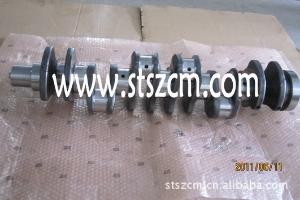 曲轴 曲轴前油封 后油封 PC400-7/PC450-7 小松挖掘机配件 山特