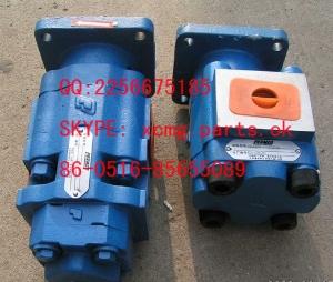 徐工厦工装载机吊车平地机配件泊姆克液压齿轮泵油泵 2256675185