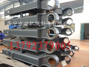 济宁吉安专业加工挖掘机下车架 挖掘机S架 上下车架生产