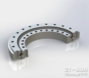 单排滚柱外齿式支承