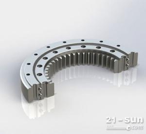 单排滚柱内齿式支承