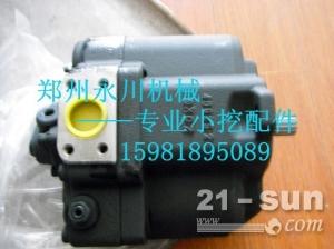 PVK-2B-505液压泵缸体柱塞配油盘回程盘球铰摇摆传动轴...