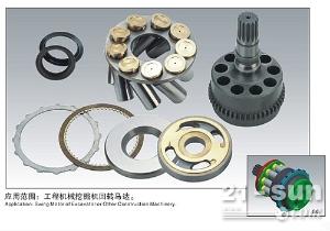 东芝SG02/025/04/08/12回转马达缸体柱塞配油盘回程盘介子15981895089