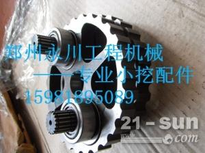 帝人GM05/GM06行走马达及减速机配件摆线总成拐轴15981895089