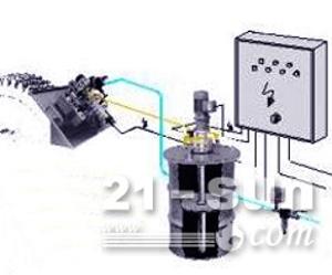 开式齿轮喷油润滑系统,球磨机齿轮喷射润滑系统,开齿自动喷射润...
