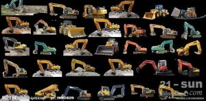 寻求专利技术合作:一种挖掘机的自动油门控制装置