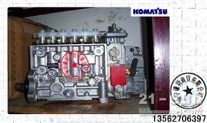 小松挖掘机配件PC360-7柴油泵