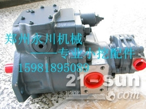 黑龙江K3SP36C液压泵总成配件郑州永川工程机械15981...