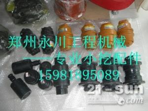 卡特重工CT80/85挖掘机支重轮托链轮引导轮郑州永川工程机...