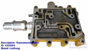 柳工配件 装载机双变 12C0001  变速操纵阀