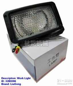 柳工配件 装载机电器仪表 32B0096  工作灯