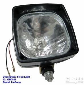 柳工配件 装载机电器仪表 32B0028  卡特工作灯