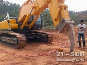 挖掘机改装加长臂、挖掘机岩石臂