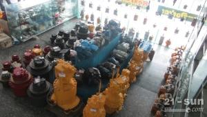 现代R265挖掘机液压泵,挖掘机泵胆,配流盘,液压零配件