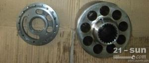 现代R305挖掘机液压泵,挖掘机泵胆,配流盘,液压零配件