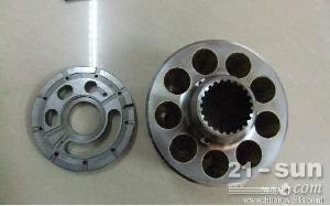 日立ZX250液压泵配流盘,柱塞,摇摆,后轴,钢板,进口川崎液压泵