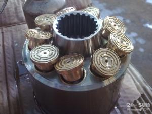 日立EX300液压泵柱塞,泵胆,摇摆,钢板,进口川崎液压泵配件