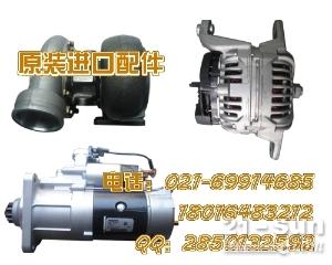 现代挖掘机R210W-9涡轮增压器 发电机 起动机 启动马达