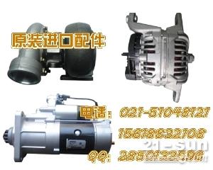 神钢SK115SR涡轮增压器 起动机 启动马达  发电机