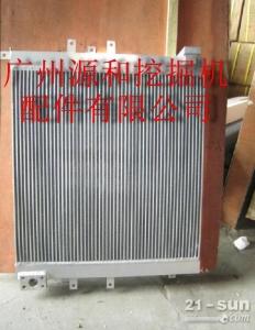卡特320C挖掘机液压油散热器