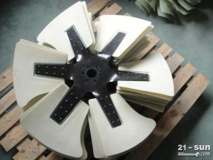 现代R265挖掘机发动机风扇叶