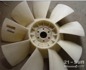 现代R455挖掘机发动机风扇叶