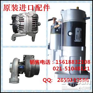 神钢SK140LC涡轮增压器 起动机