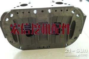 日立EX200-5挖掘机液压泵后盖