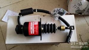 徐工配件 徐工LW500F装载机配件 D9-220发动机熄火电磁阀