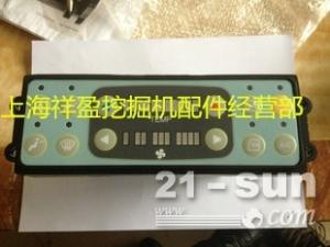 现代305-7挖掘机空调控制面板