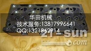 批发久保田挖机KX163-5发动机缸头