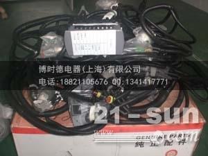 批发三一SY330挖机全车线束,车身线束,保险盒线束,继电器...