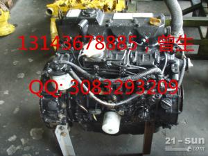 小松挖掘机配件PC40-7 4D84-2/3带中冷发动机总成