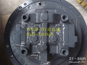 小松挖掘机配件PC130-7行走总成
