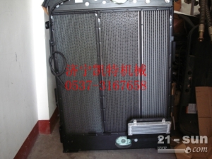 小松挖掘机配件PC200-8水散.