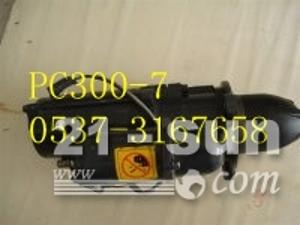 小松挖掘机配件PC300-7起动机