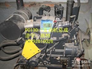 小松挖掘机配件PC130-7发动机总成.