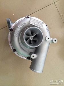 现代R335挖掘机增压器,R335涡轮增压器