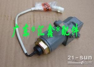 日立200-3挖掘机高速电磁阀